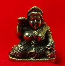 TINY NANG KWAK LADY LUCKY RICH TRADE THAI BUDDHA AMULET CHARM THAILAND TALISMAN image 3