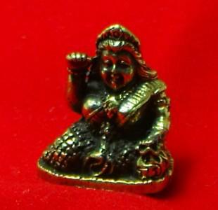 TINY NANG KWAK LADY LUCKY RICH TRADE THAI BUDDHA AMULET CHARM THAILAND TALISMAN image 4