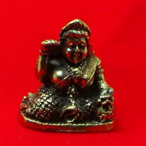 TINY NANG KWAK LADY LUCKY RICH TRADE THAI BUDDHA AMULET CHARM THAILAND TALISMAN image 5