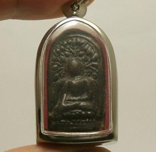 PHRA LUE THAI ANTIQUE FOR MERCHANT & INVESTOR MIRACLE BUDDHA AMULET RARE PENDANT