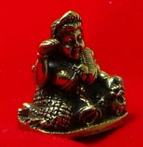 TINY NANG KWAK LADY LUCKY RICH TRADE THAI BUDDHA AMULET CHARM THAILAND TALISMAN image 6