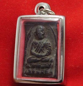 LP TUAD THUAD THAI STRONG PROTECTION BUDDHA AMULET SUCCESS LUCKY HAPPY PENDANT image 5