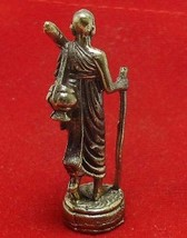 THAI MINI SIVALI BUDDHA AMULET PHRA SIVALEE REAL LUCKY TRADE MONEY RICH MERCHANT image 4