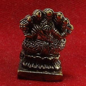 HINDU MINI AMULET GANAPATI VINAYAKA GANESH LORD GANESHA OM GOD OF SUCCESS DEITY image 3