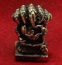 HINDU MINI AMULET GANAPATI VINAYAKA GANESH LORD GANESHA OM GOD OF SUCCESS DEITY image 4