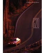 1993 Infiniti G20 brochure catalog US 93 G Nissan Primera - $8.00