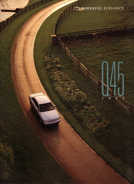 Primary image for 1993 Infiniti Q45 brochure catalog US 93 Q Nissan President