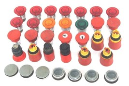 LOT OF MISC. PUSHBUTTON KNOBS