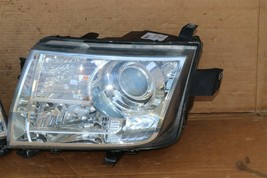 07-10 Lincoln MKX Halogen W/ AFS Headlight Lamp Set L&R  - POLISHED  image 2
