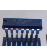 MC3403 MC3403N QUAD OP-AMP, 12000uV OFFSET-MAX,... - $1.13