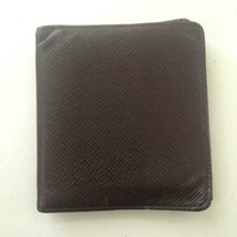 Authentic Louis Vuitton Brown Taiga Leather Mens Wallet 4in x 4in (VI0032) - $185.20