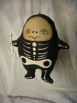 Bethany Lowe Halloween Stanley Skeleton Ornament by Robin Seeber