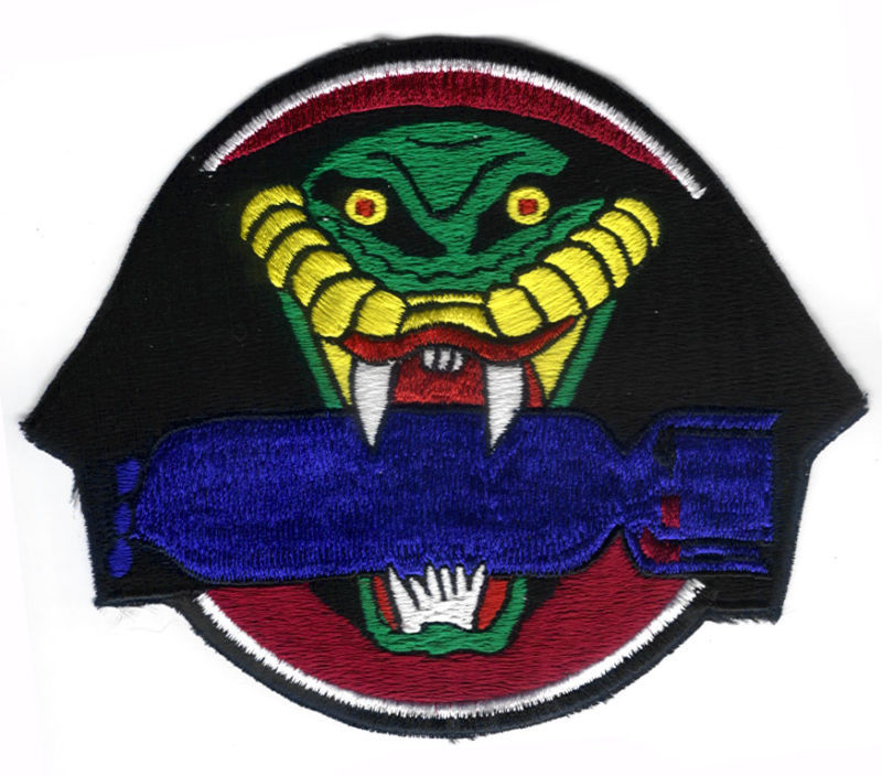 "864th BOMBARDMENT SQUADRON 494th BOMB GROUP 5"" Patch"