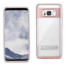 Reiko Cell Phone Case for Samsung Galaxy S8 Edge - Clear Rose Gold - $9.40
