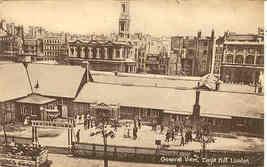 The Eagle Hut London vintage Post Card - $5.00