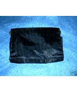 Black Pleated Evening Satin Shoulder or Clutch Purse - $9.95