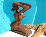 Nude figurines woman carved wood sculpture thumb155 crop