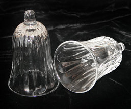 Pair of Clear Glass Votive Candle Holders - $8.98