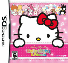 Nintendo DS 2011 Kids Loving Life with Hello Kitty & Friends Action Vide... - $17.80