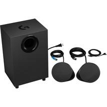 Logitech LIGHTSYNC G560 2.1 Bluetooth Speaker System - 240 W RMS - Black - 40 Hz - $210.54