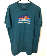 Patagonia Men's Classic Graphic Logo Cotton Blend T-Shirt Size XL - $24.70