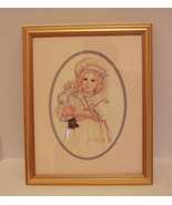 Matted, Framed Jan Hagara  Signed, Numbered Lt Ed Print (1996)  - $21.99