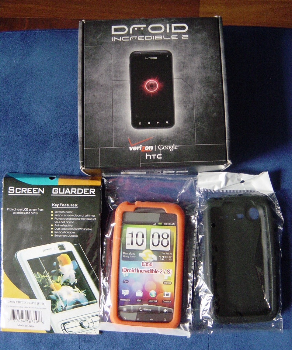 Primary image for Verizon HTC Droid Incredible 2 New in Box with Accessories