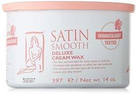 Satin Smooth Deluxe Cream Pot Wax, 14 Ounce image 3