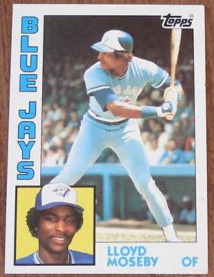 Lloyd Moseby Blue Jays 1984 92 Topps And 50 Similar Items