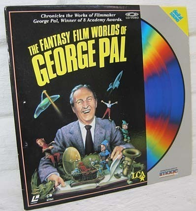 Signed Rare Laser Disc The Fantasy Film Worlds of George Pal