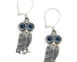 951229 wise little owl silver earrings 9 thumb155 crop