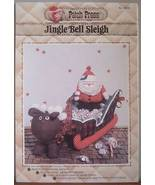 Patch Press Jingle Bell Sleigh with Santa and Reindeer Pattern - $5.75