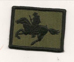 U.S.Army Wyoming National Guard Subdued Patch - $3.50