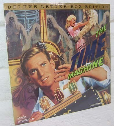 Mint Factory Sealed The Time Machine (1960) Rod Taylor Laser Disc