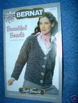 Bernat Bonus Book, Beautiful Bouche to Knit & Crochet  - $3.00