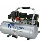 Portable Air Compressor 2 Gallon 1 HP Ultra Quiet Oil Free Aluminum Tank... - $255.99