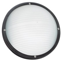 Sea Gull Lighting 83057-12 Bayside One Light Outdoor Wall/Ceiling Mount, Black - $108.88
