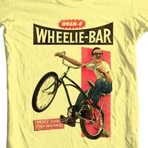 Wham-O Wheelie-Bar t-shirt retro childhood toys 50s graphic yellow tee WMO101 image 1