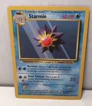 Starmie 64/102 Pokemon Card TCG Wizards Original Base Basic Set NM Great... - $2.54