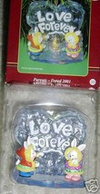 2001 Parents Love Forever Lighted Carlton Cards Heirloom 33 Christmas Ornament N - $14.90