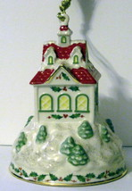 NIB LENOX 2008 Annual Holiday Ride Christmas Ornament Train Station Depot Train image 4