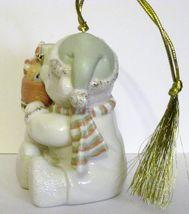 NIB Lenox 2008 Annual Teddy's Special Stocking  Christmas Ornament Bear fine chi image 7