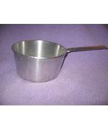 Vintage 1940's-50's Aluminum 2 Qt. Pan Lightwei... - $18.66
