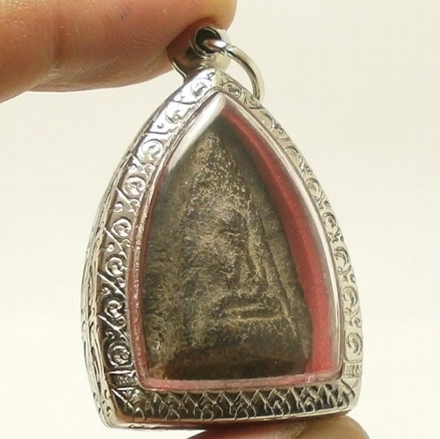 LP BOON BUDDHA CHANT MAGIC BLESSING LUCKY RICH SUCCESS REAL THAI AMULET PENDANT image 2