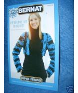Bernat Bonus Book, Stripe It Right to Knit & Crochet - $3.00