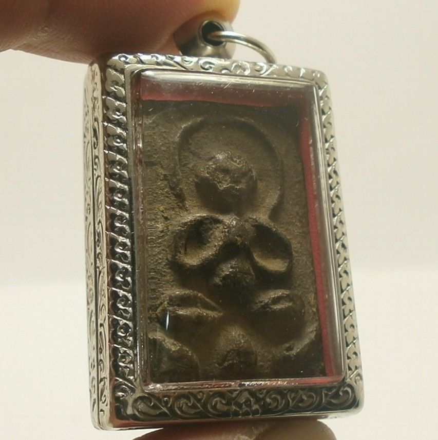 LP BOON BIG BELLY BUDDHA CHANT MAGIC BLESSING LUCKY RICH SUCCESS THAI TOP AMULET image 2