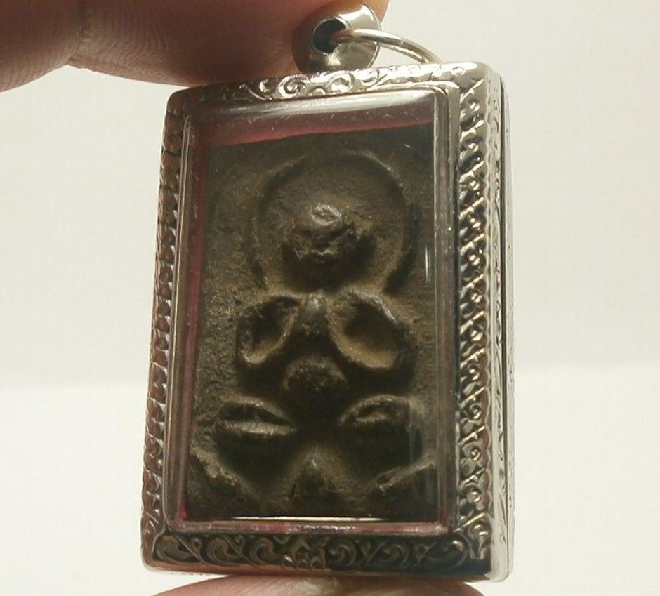 LP BOON BIG BELLY BUDDHA CHANT MAGIC BLESSING LUCKY RICH SUCCESS THAI TOP AMULET image 3
