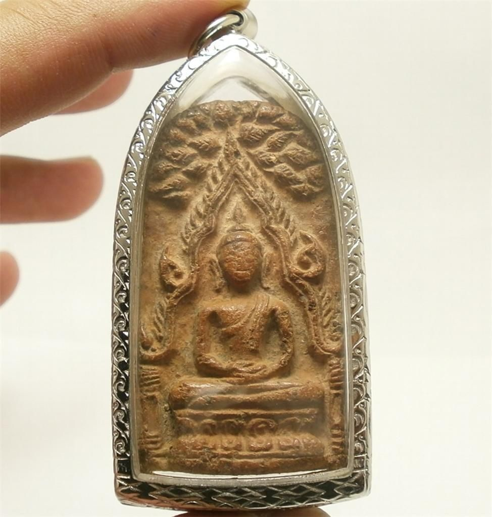 PHRA BUDDHA CHINNARAJ BLESSED THAI POWERFUL AMULET RICH PEACEFUL SUCCESS PENDANT