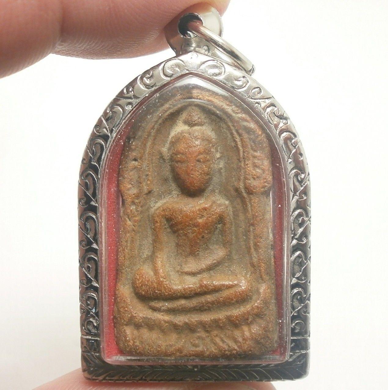 PHRA SOOMGOR MONEY RICH LUCKY HAPPY PEACEFUL LIFE THAI BUDDHA TOP AMULET PENDANT