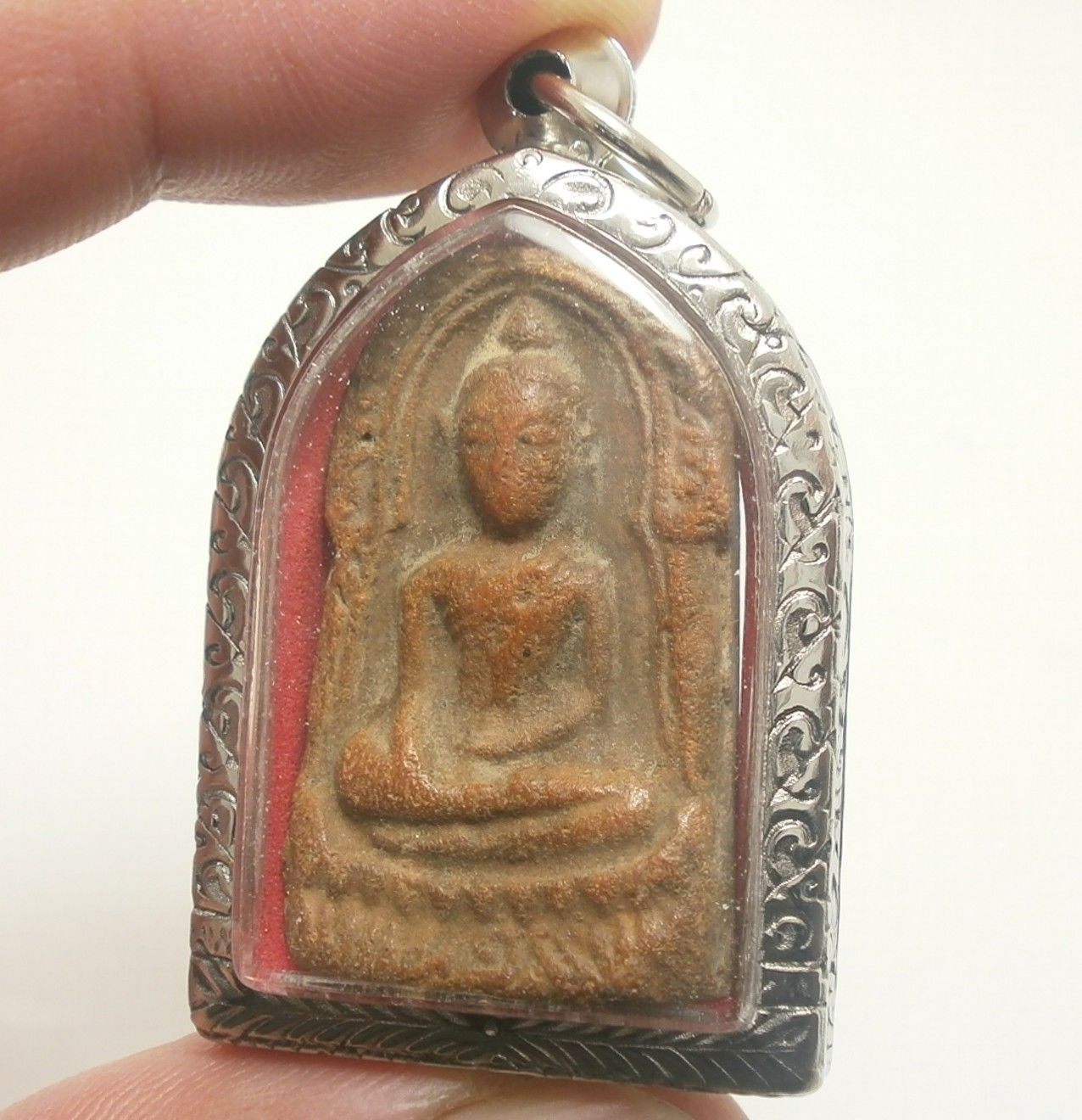 PHRA SOOMGOR MONEY RICH LUCKY HAPPY PEACEFUL LIFE THAI BUDDHA TOP AMULET PENDANT image 3